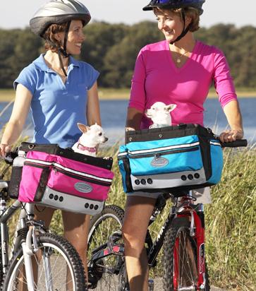 Midnight Pass Inc Pet Products Sport Cruiser Pet Bicycle Basket